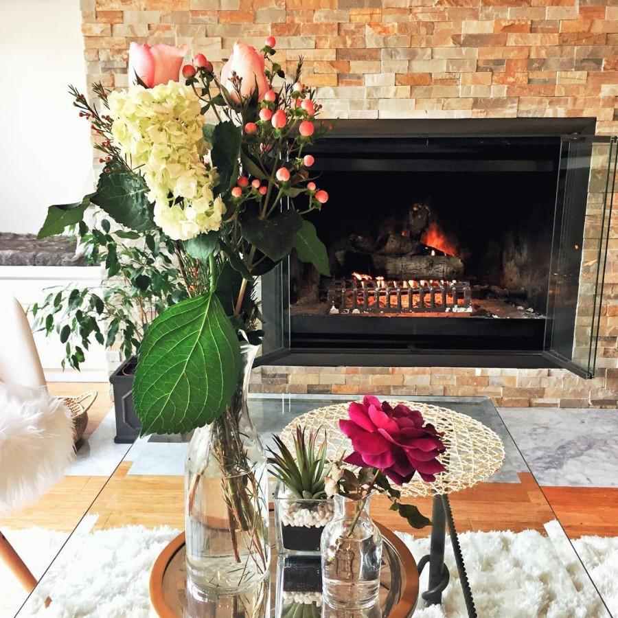 Interior Design, Home Design, Fireplace
