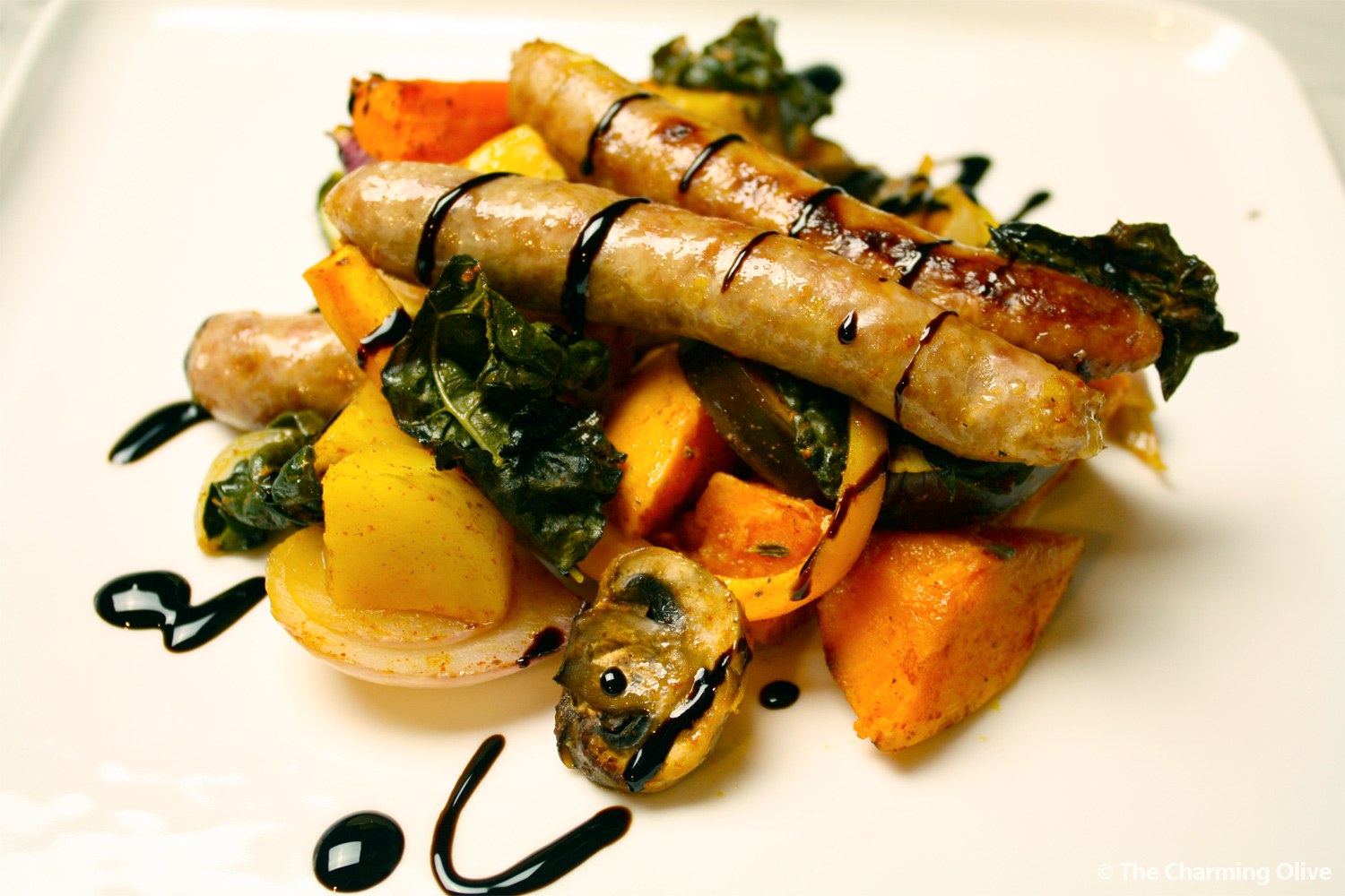 Sausage & Vegetable Medley