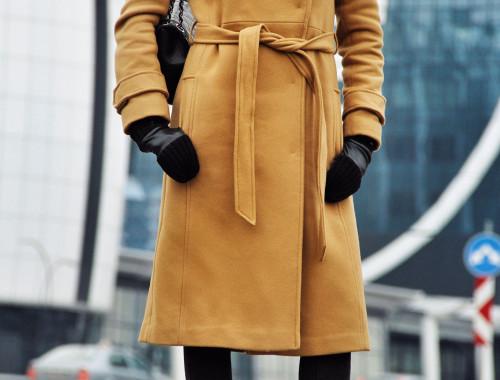 Asos Tan Wool Coat