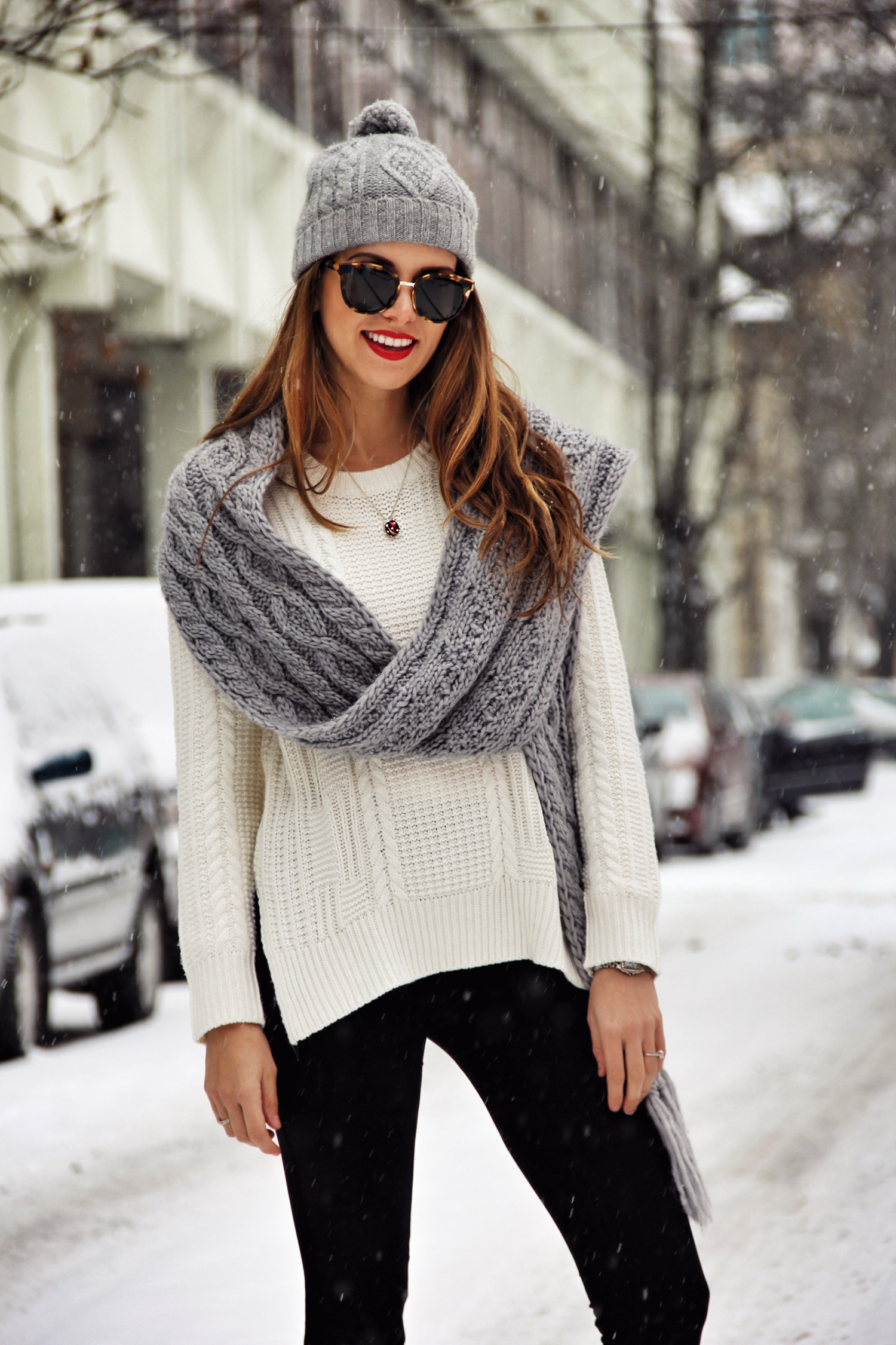 Winter Knits, The Charming Olive, Adelina Perrin