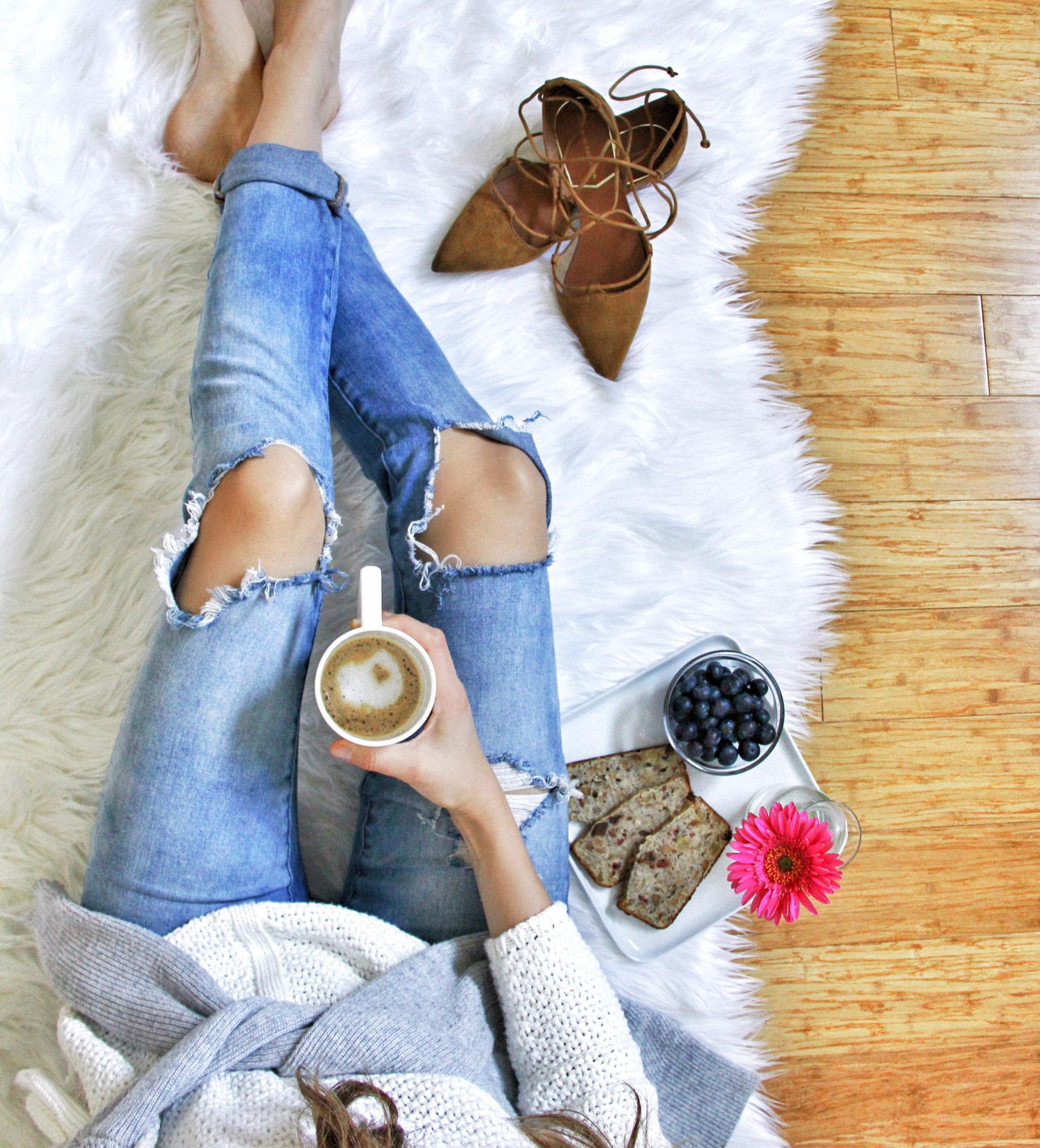 Monday Mood, Denim and Coffee, Outfit Details