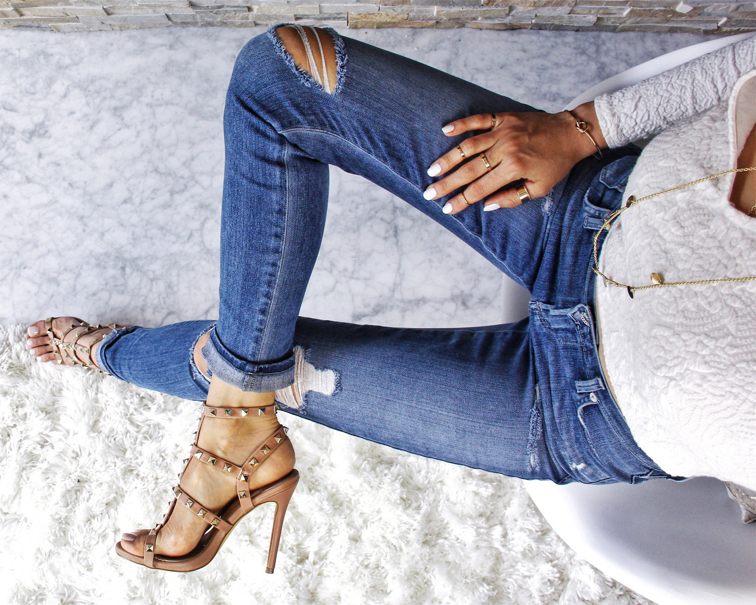 Blue Jean Shoesday