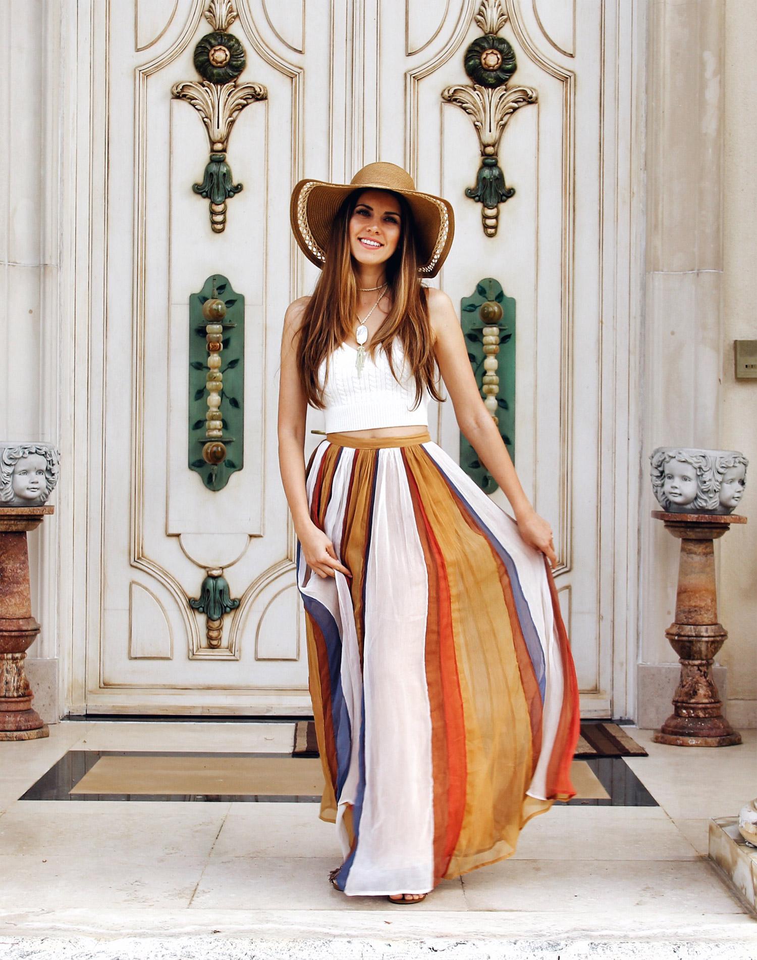 Iconic Maxi Skirt