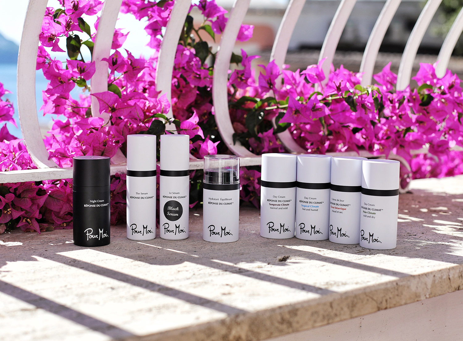 Fashion and lifestyle blogger Adelina Perrin of The Charming Olive sharing the best skincare for travel