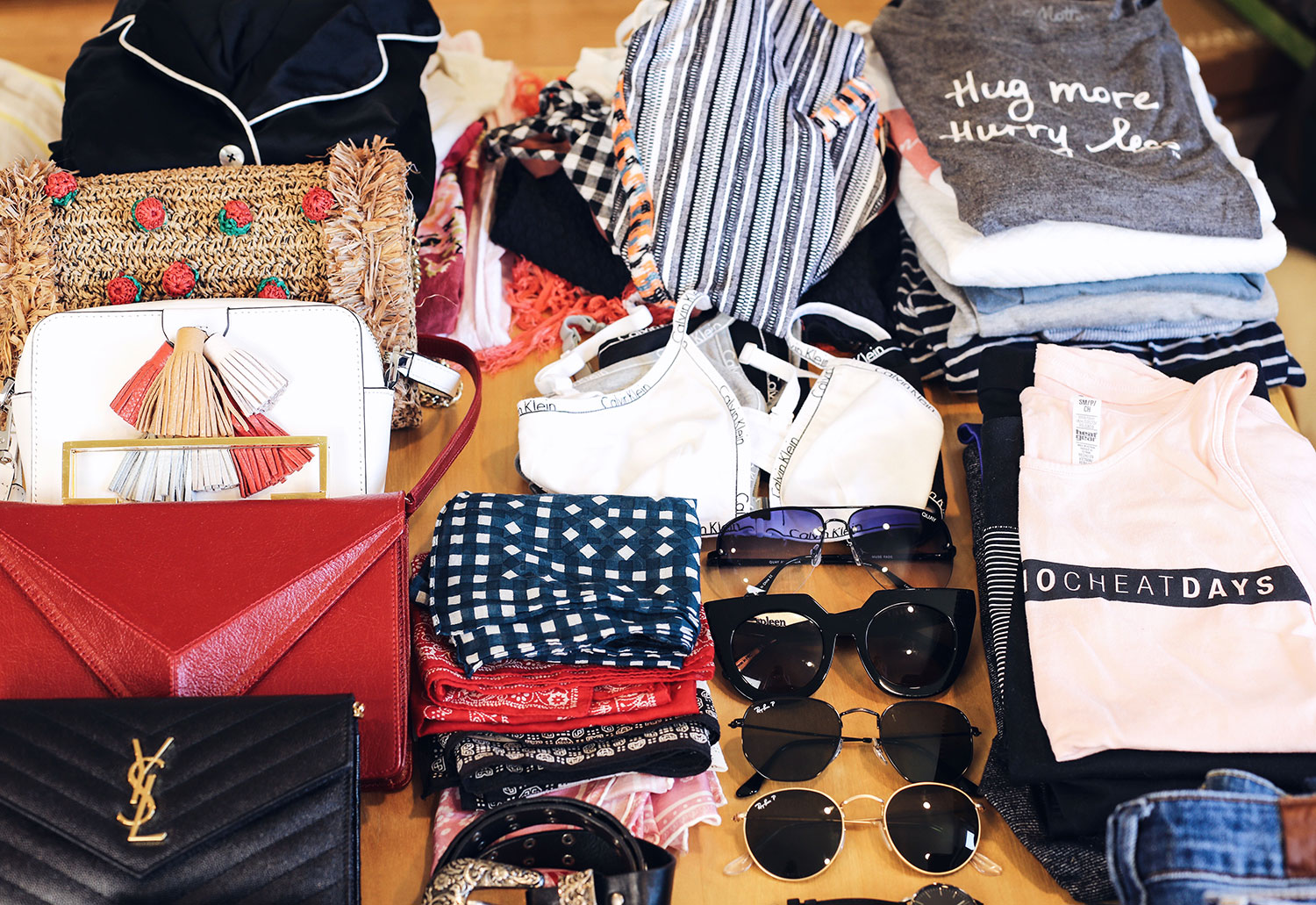 Fashion and lifestyle blogger Adelina Perrin of The Charming Olive sharing tips on how to pack for international travel